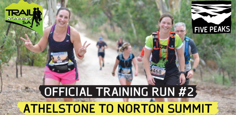 Five Peaks Official Training Run #2 – Athelstone to Norton Summit (18 km or 9 km)